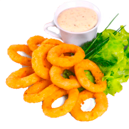 Кольца кальмаров фри