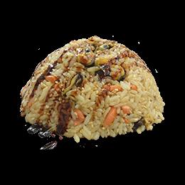 Рис с угрем